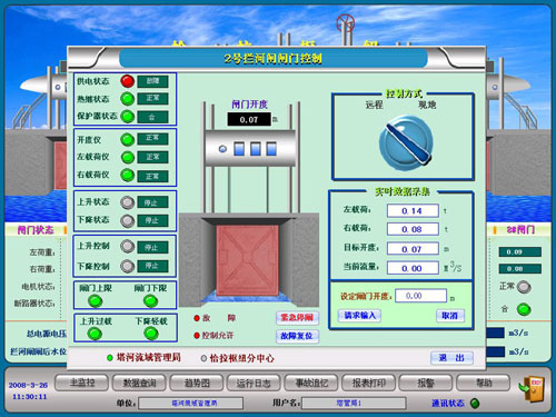 """如:水库调度管理系统,水电厂自动化系统等,是实现""""无人值班,少人值守"""""""